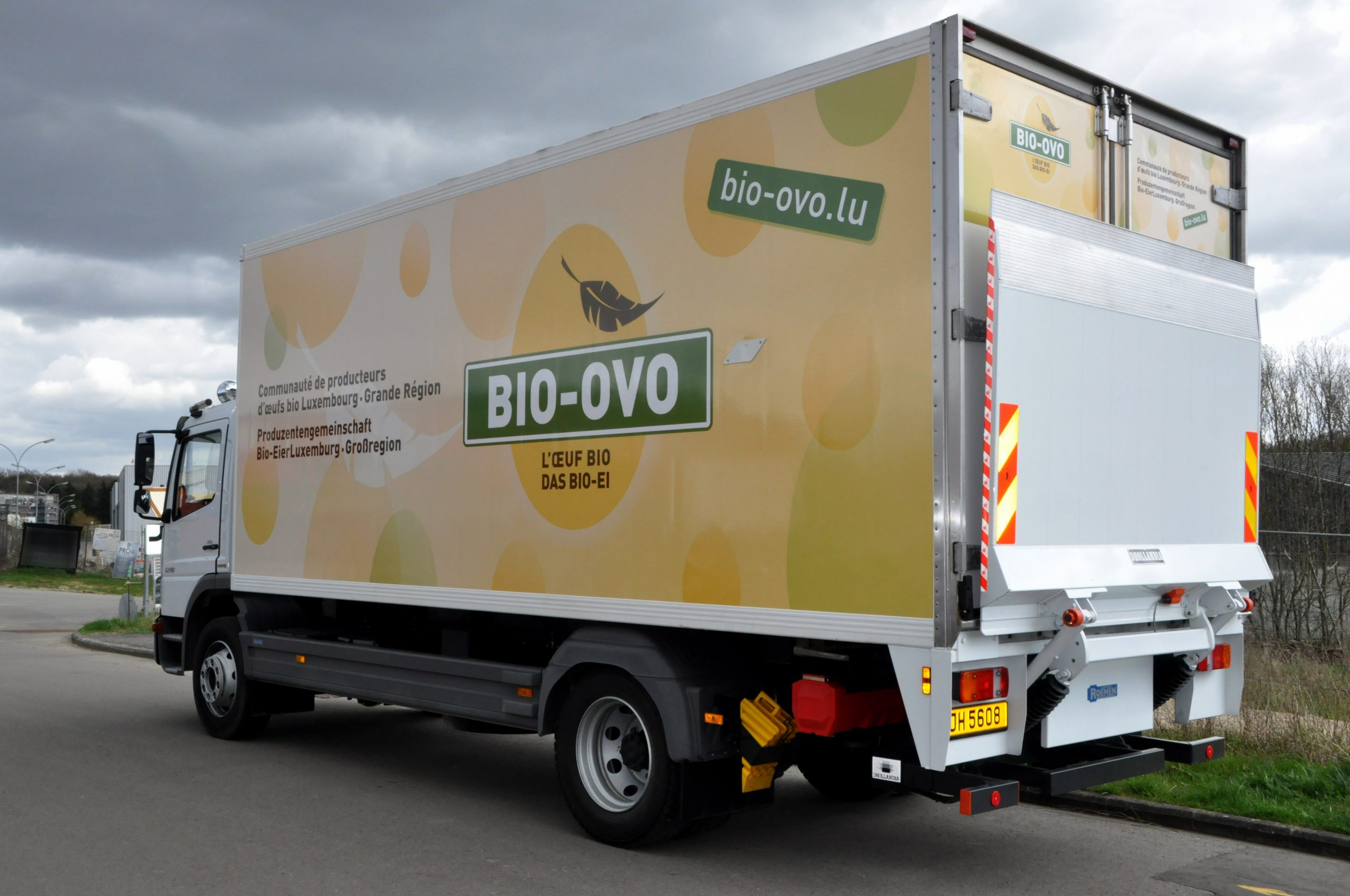 REPERES_BIOOVO_habillage camion