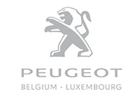 Logo Peugeot Belgium Luxembourg