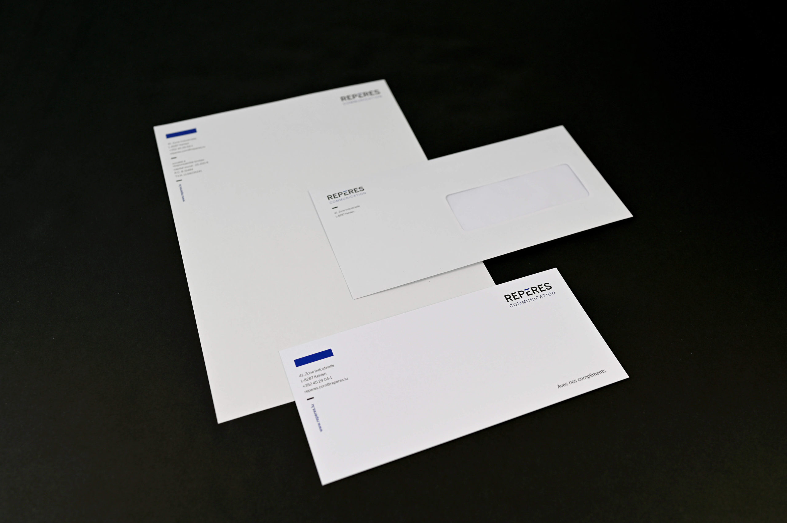 Reperes Communication_branding_papeterie