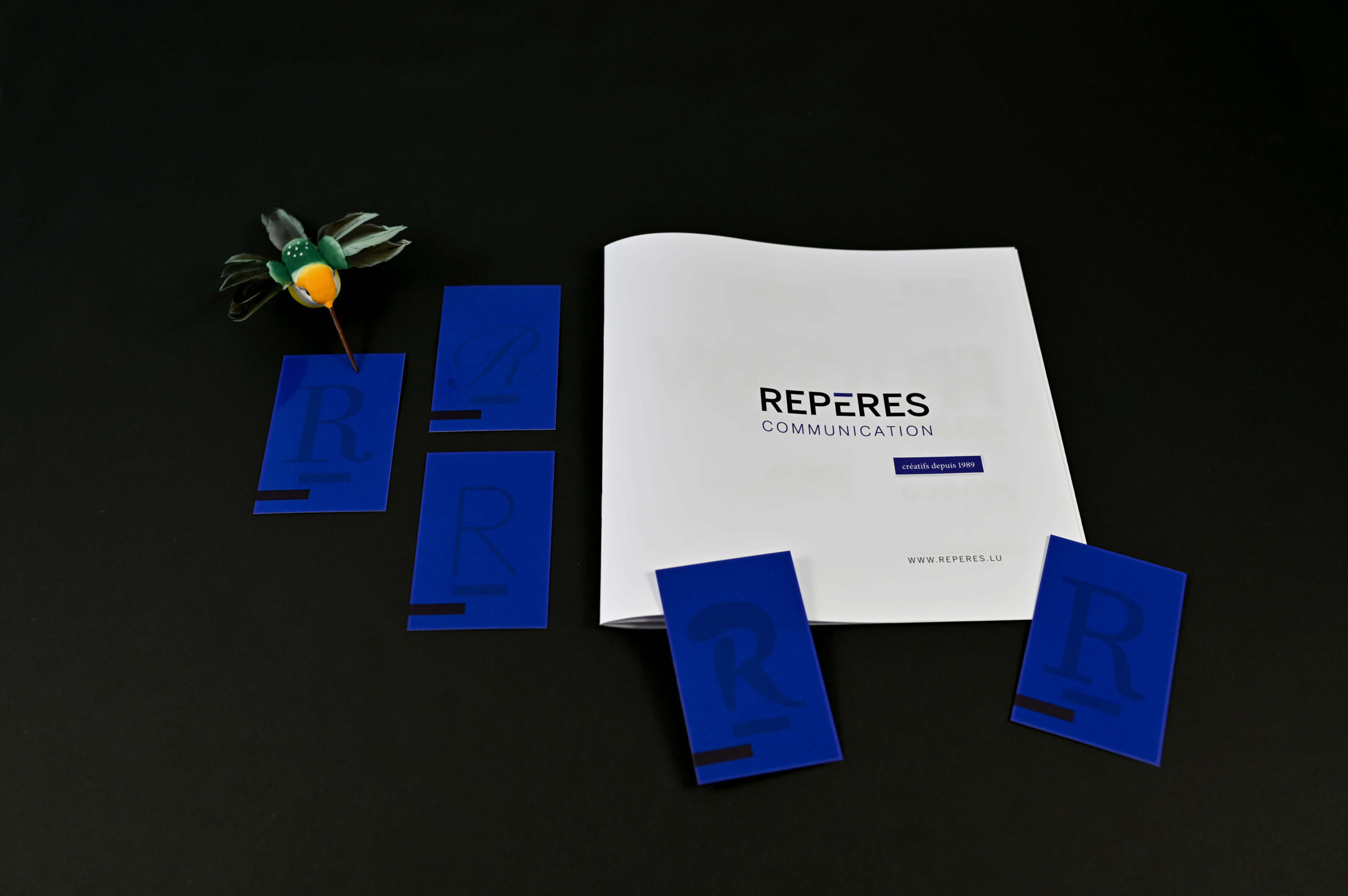 Reperes Communication_branding_plaquette-carte de visite