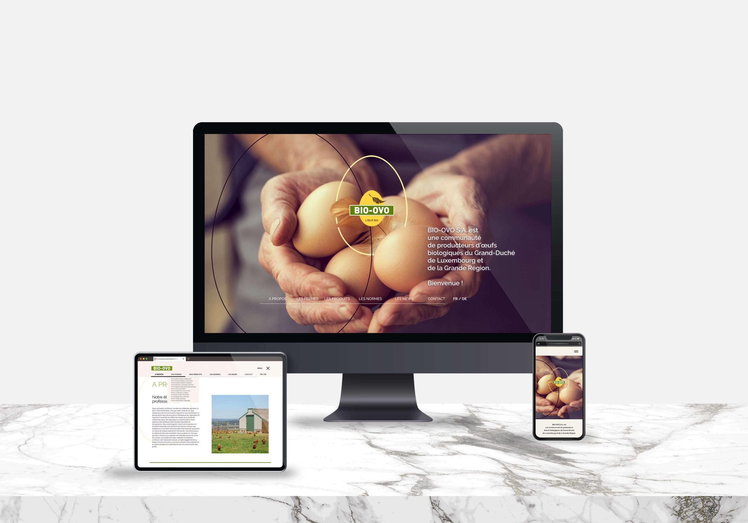 Site web BIO-OVO