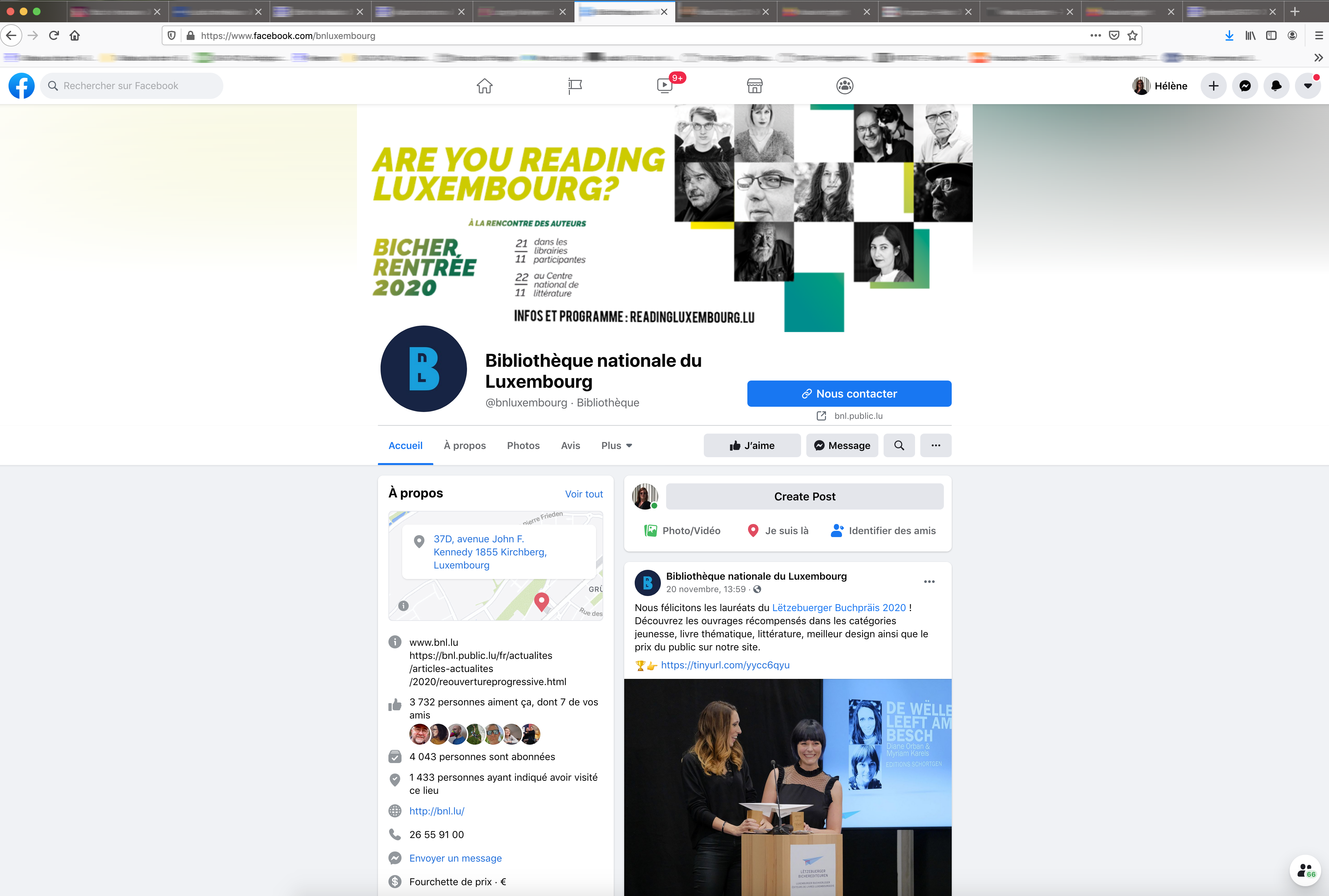 campagne Reading luxembourg facebook
